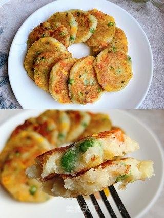 田园土豆饼的做法步骤:6