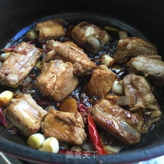 红烧排骨炖土豆的做法步骤:3