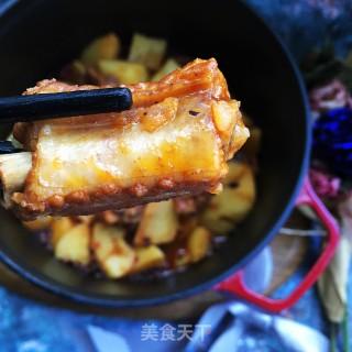红烧排骨炖土豆的做法步骤:10